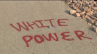 Bike path in Las Vegas vandalized with racist phrases