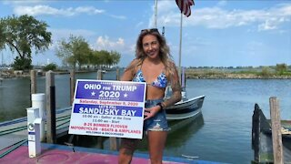 Boat rally held in Sandusky Bay to support President Trump