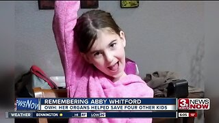 Girl fatally struck in Papillion to live on through others