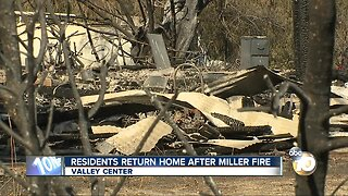 Residents return home after Miller Fire evacuations lifted