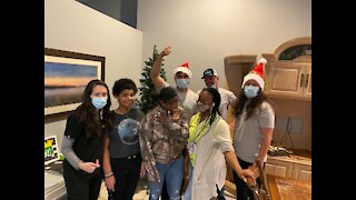 Palm Beach County moving company delivers Christmas cheer to 6 groups homes