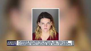 Fmr Rochester teacher charged with having sex posts bond