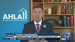 Hotel industry training employees to recognize signs of human trafficking