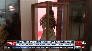 Strange Museum opens today at Fox Theater
