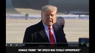 Trump Breaks Silence, For First Time In Days