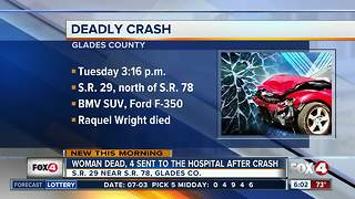 Deadly crash in Glades County