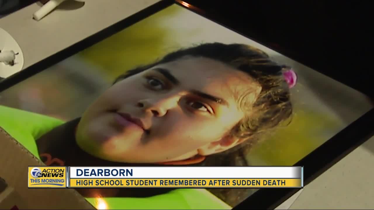 Classmates remember Dearborn High School student