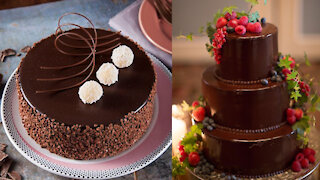 Top 20 Amazing Chocolate Cake Decorating Ideas | Beautiful Chocolate Birthday Cake