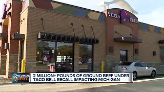 Metro Detroit customers concerned after millions of pounds of beef recalled by Taco Bell