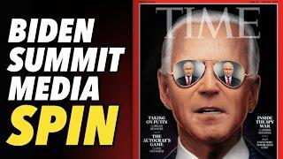 Biden media puppets busy spinning Putin summit narrative