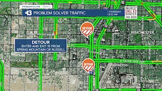 NYE TRAFFIC: Las Vegas road closures for New Year's Eve