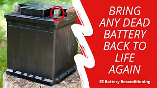 Bring Any Dead Battery Back To Life Again   bring any battery back to life