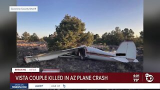 Vista couple killed in AZ plane crash