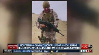 Vigil for SoCal Marine