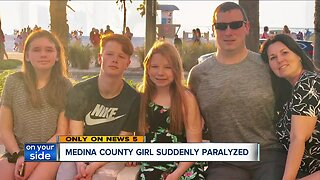 Medina County teen suddenly paralyzed, heartbroken family seeks medical answers