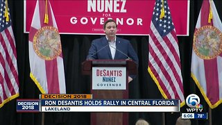 Ron DeSantis holds rally in central Florida