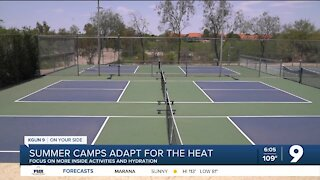 Summer camps adapt for the record-breaking heat