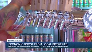 Study finds beer industry brings billions to Oklahoma economy