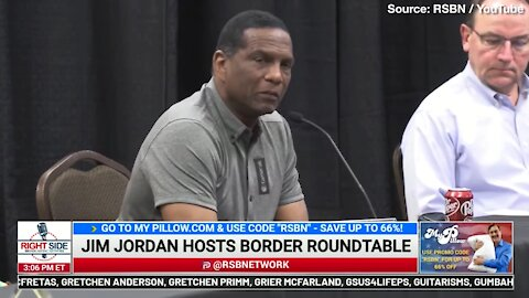 Burgess Owens Gets Emotional Talking About the Suffering at Border