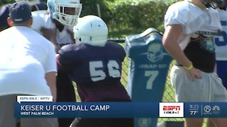 Linemen and playmakers camps at Keiser University