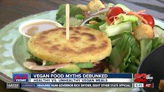 Vida Vegan explains healthy and unhealthy vegan options