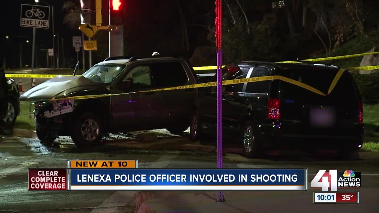 Lenexa police officer involved in shooting