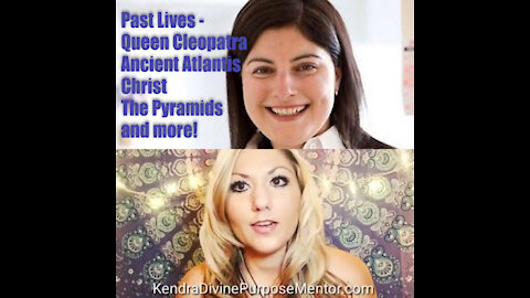 Taking off the veils: Past lives; Queen Cleopatra, Atlantis, MedBeds, Christ, The Pyramids, & more!