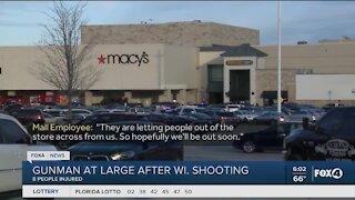 Gunman at large after Wisconsin shooting