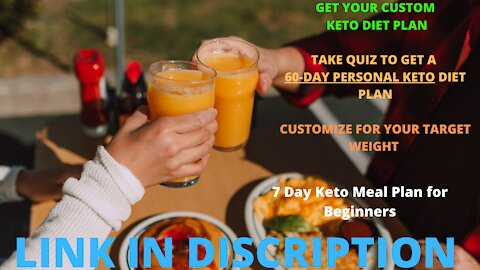 7 Day Keto Meal Plan for Beginners