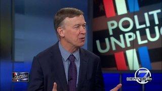 Gov. Hickenlooper discusses timeline for possible presidential run, advice for successor
