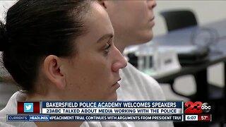 23ABC's Jessica Harrington speaks with BPD cadets