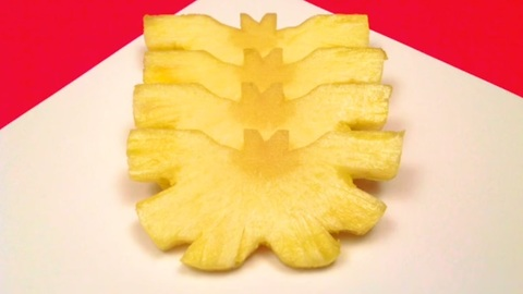 How to make a butterfly with a pineapple
