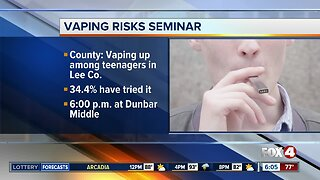Lee County School District to host seminars about tobacco and vaping prevention