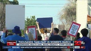 2nd Annual Women's March in Kern County