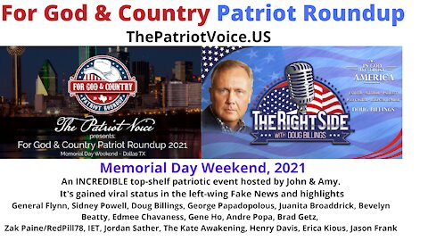 For God & Country: Patriot Roundup