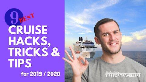 Nine best cruise hacks, tricks and tips