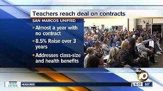 Tentative deal reached in San Marcos teachers dispute