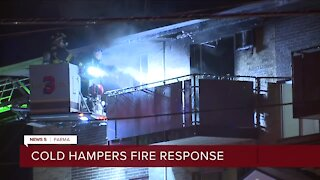 All residents displaced after apartment fire in Parma