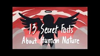 13 Secret Facts About Human Nature YOU SHOULD KNOW
