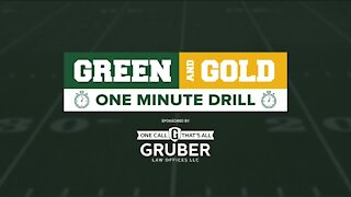Green and Gold One Minute Drill: September 7, 2020