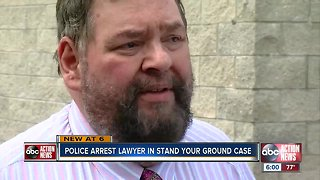 Stand your ground lead attorney John Trevena charged with domestic violence