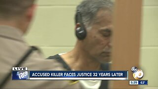 Accused killer to face justice after 32 years on the run