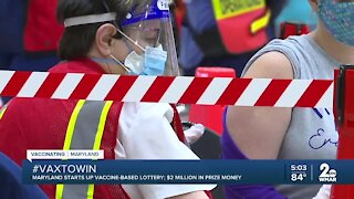 Maryland Lottery gives vaccinated residents the chance to win $40k in daily prizes