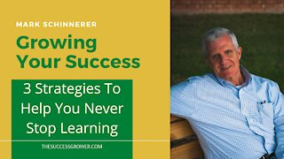 3 Strategies To Help You Never Stop Learning