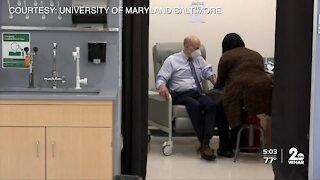UMB president receives shot of potential coronavirus vaccine