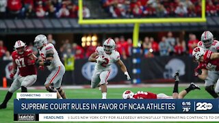 Supreme Court rules in favor of NCAA athletes