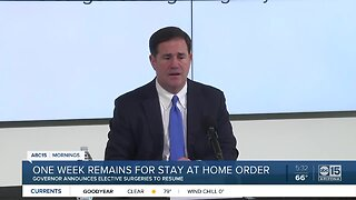 Ducey's stay-at-home order to expire April 30