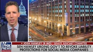 Senator Josh Hawley: It's time to revoke Twitter's special immunity