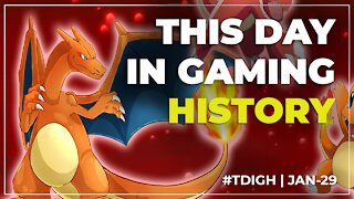 THIS DAY IN GAMING HISTORY (TDIGH) - JANUARY 29