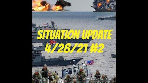 SITUATION UPDATE 2-Taiwan, Russia, AZ Audit, Pelosi, Jab